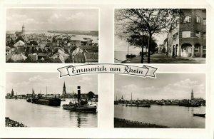 EMMERICH am Rhein, Mehrbildkarte (1955) AK