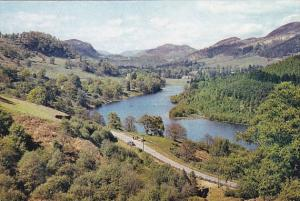 Scotland Loch Faskally and Pass Of Killiecrankie Inverness-shire
