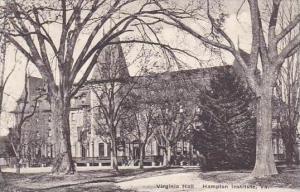 Virginia Hampton Virginia Hall Hampton Institute Albertype