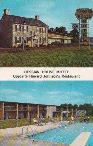 Virginia Staunton Hessian House Motel With Pool 1976