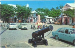 King's Parade, St. George's, Bermuda, chrome