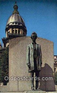 Springfield, Illinois, IL State Capital USA Unused
