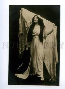 139054 KUZNETSOVA BENOIS Russian OPERA Singer DANCE old PHOTO