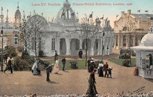 London 1908 Franco-British Exhibition, Louis XV Pavilion