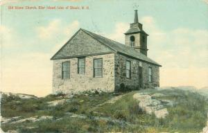 Gosport Chapel, Star Isle, Isles of Shoals, New Hampsire NH  1910 Postcard