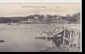 Maine Christmas Cove Coast Albertype