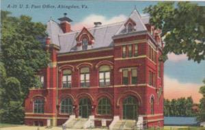 Virginia Abingdon Post Office