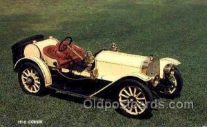 1910 corbin Antique Classic Car, Old Vintage Post Cards Postcard  1910 corbin