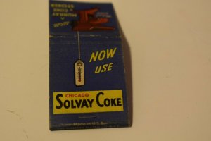 Now Use Chicago Solway Coke 20 Strike Matchbook Cover