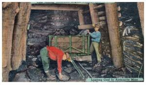 20093  Loading Coal in Anthracite Mine