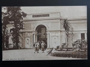 London BRISTISH EMPIRE EXHIBITION 1924 New Zealand Pavilion