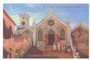 St. Peter's Church, St. George's, Bermuda, 1940-1960s