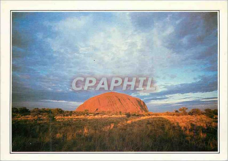Modern Postcard Australia Territories of north the monolith of Ayers Rock'n'rol