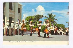 Changing of the Guard , Government House , Nassau , Bahamas , 50-70s