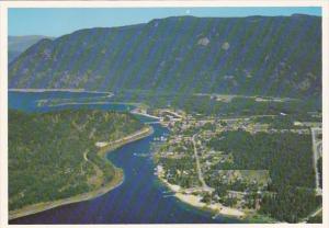 Canada British Columbia Sicamous Aerial View