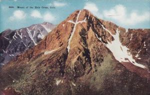 Mount Of The Holt Cross Colorado 1913