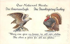 Thanksgiving Old Vintage Antique Postcard Post Card 906