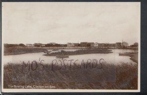 Essex Postcard - The Boating Lake, Clacton-On-Sea     T5223
