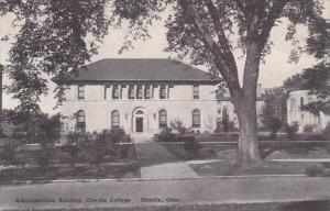 Ohio Oberlin Administration Building Oberlin College Albertype