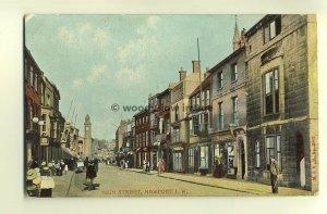 h0268 - High Street , Newport , Isle of Wight - postcard