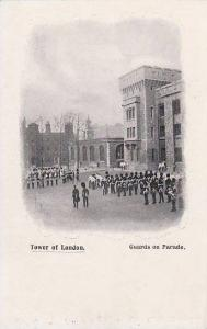 Guards On Parade, Tower Of London, England, UK, 1900-1910s