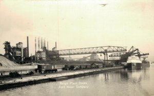 USA - Rouge Plant Docks - Ford Motor Company 04.11