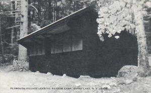 Plymouth Village Lean-To Pilgrim Camp Brant Lake New York Artvue