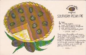 Recipe Card Gran'ma Gold's Southern Pecan Pie