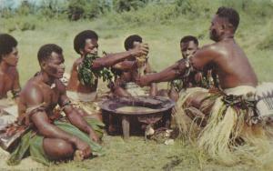 A Yanqona Ceremony, Fiji, PU-1970