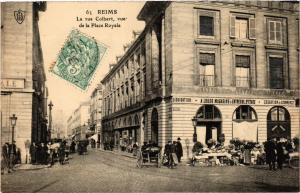 CPA REIMS - La Rue Colbert (277070)
