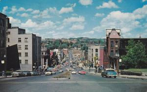 King Street Looking West, Classic Cars, SHERBROOKE, Quebec, Canada, 40-60's