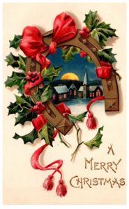 Christmas Night seen ,  Horseshoe