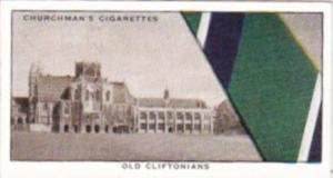 Church Vintage Cigarette Card Well Known Ties No 22 Old Cliftonians