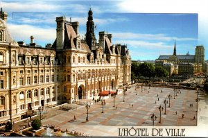France Paris L'Hotel De Ville