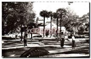 Postcard Modern Barbotan Les Thermes Parc And Miniature Golf