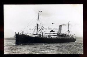 bf567 - New Zealand Shipping Liner - Rimutaka , built 1901 -postcard by Feilden