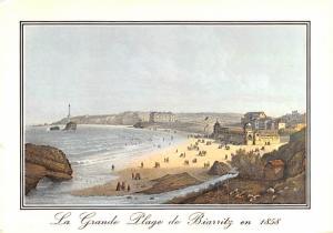 La Grande Plage de Biarritz -