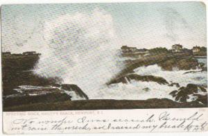 Spouting Rocks Baileys Beach Newport RI 1906