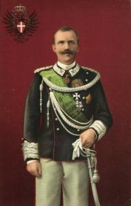 King Victor Emmanuel III of Italy in Uniform (1910s) Postcard