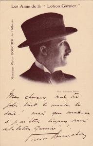 Monsieur Victor BOUCHER, de l'Athenee, Les Amis de la Lotion Garnier, 00-10s