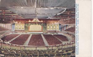 KANSAS CITY, Missouri, 1900-1910's; Interior Of Convention Hall