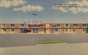 GRAND RAPIDS , Minnesota , 30-40s; Holiday Village Motel