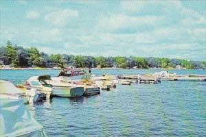 Canada Boats At Port Severin Ontario