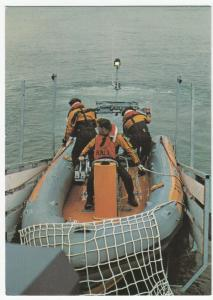 Minehead Atlantic 21 Class Lifeboat PPC By Beric Tempest, Unposted