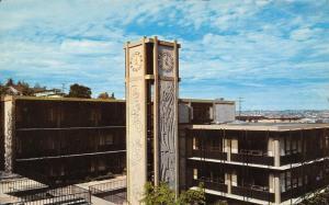 Seattle Pacific University~12:22 PM on Demeray Hall Clocktower~Day Carillon~1970