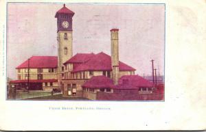 Oregon Portland Union Depot 1906