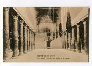 258019 PALESTINE BETHLEHEM Basilica Vintage Vester postcard