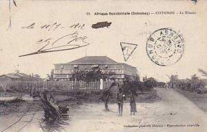 DAHOMEY . PU-1912, Cotonou - Le Blocus