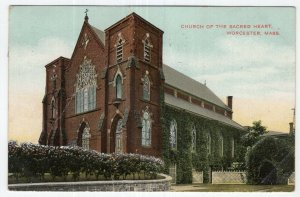 Worcester, Mass, Church Of The Sacred Heart