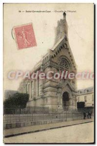 Old Postcard Saint Germain en Laye Chapel of the Hospital